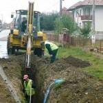 Daia Română va fi racordată la rețeaua de apă și canalizare