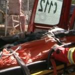 Astăzi la Sebeș un bărbat a fost accidentat la locul de muncă