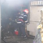 Incendiu izbucnit la garajul unei gospodării din comuna Șugag