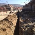 Astăzi au început lucrările de aducțiune a apei potabile la Daia Română