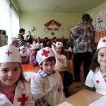 """""""Mugurii Crucii Roşii"""" – concurs de igienă, sănătate şi prim ajutor pentru preșcolarii din Sebeș"""