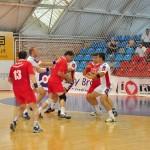 În primul meci al turneului de promovare în Divizia A de handbal masculin, Voinţa Savini Due Sebeş a învins Cimentul Bicaz