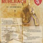 """Între 21 și 23 iunie la Sebeș vor avea loc """"Zilele Cetăţii Mühlbach"""", ediţia I"""