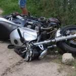 Tânăr de 22 de ani din Săsciori cercetat de polițiști, după ce a condus fără permis o motocicletă neînmatriculată și a provocat un accident rutier la Sebeș