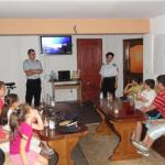 """La Aşezământul Social """"Sfântul Gheorghe"""" din Sebeş copii au învăţat despre situaţiile de urgenţă"""