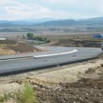 Circulație deviată pe banda de urgență a Autostrăzii A1, din cauza unor lucrări de asfaltare care se execută în zona Sebeș