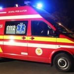 Două persoane au fost rănite la Sebeș, după ce mașina în care se aflau s-a izbit de un stâlp de iluminat public