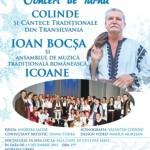 Vineri, 13 decembrie, Concert extraordinar de colinde şi cântece tradiţionale susţinut de Ioan Bocşa la Casa de Cultură din Sebeş