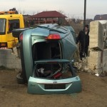 Mai multe persoane au fost rănite în urma unui accident rutier petrecut lângă Petrești