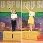 Surorile Tania şi Sonia Damian din Sebeş au obținut locul I în cadrul Cupei Argeş la dans sportiv