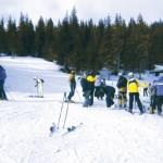 O pană de curent a alungat turiştii de pe pârtiile de schi din Munţii Şureanu