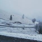 Zăpada a pus stăpânire pe Transalpina