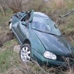 Un tânăr din Sebeș a ajuns la spital în urma unui accident rutier petrecut la Daia Română
