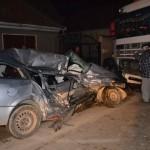 Accident rutier la Lancrăm în cursul nopții trecute