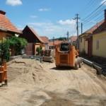 Lucrări moderne pentru reinstaurarea atmosferei vechiului burg la Sebeş