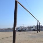 Ţeava de gaz ce alimentează Ciserom Sebeș, suspendată peste o firmă de vulcanizare, stă să se dărâme
