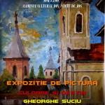 """Duminică, la Căminul Cultural din Vinţu de Jos va avea loc vernisajul expoziției """"Culoare şi destin"""" a pictorului Gheorghe Suciu"""