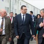 """Victor Ponta: """"Din 2015, de la fabrica Daimler din Sebeş până la graniţa cu Ungaria se va merge pe autostradă"""""""