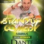 Dante Caffe din Sebeş vă invită sâmbătă la o seară de distracţie, petrecere şi amuzament cu Marius de la Spitalu` 9