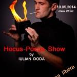 Dante Caffe din Sebeș vă invită mâine la un spectacol de iluzionism cu Iulian Doda