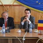 Răzvan Burleanu s-a aflat astăzi la Sebeş în vederea deschiderii unui Centru de Excelenţă
