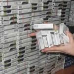 Poliţiştii din Vinţu de Jos au confiscat țigări de contrabandă în valoare de 84.000 de lei
