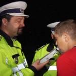 Șofer din Șpring în stare de ebrietate și fără permis depistat de polițiști în trafic pe DJ 106 I