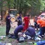 Un bărbat din Sebeș și-a pierdut viața într-un accident de muncă la Câlnic