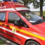 Biciclistă de 45 de ani rănită la Petrești de un autoturism condus de un șofer din Sebeș, care mai apoi s-a răsturnat în șanț