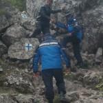 Un turist maghiar rătăcit în zona Șureanu, salvat de jandarmii montani