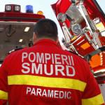 Un șofer din Sebeș a fost rănit ușor după ce s-a răsturnat cu mașina între Căpâlna şi Mărtinie