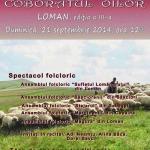 """Duminică, 21 septembrie – Cea de-a III-a ediție a sărbătorii tradiţionale pastorale """"Coborâtul oilor"""""""