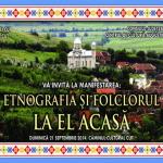 Duminică, 21 septembrie, etnografia şi folclorul vor fi reînviate la Cut