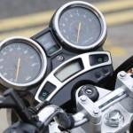 Tânăr de 24 de ani din Sebeș surprins de polițiștii rutieri în timp ce conducea fără permis o motocicletă neînmatriculată