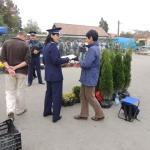 Poliţiştii au testat la Sebeș reacţia trecătorilor în cazul unei infracțiuni de tâlhărie