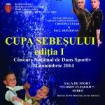 22 noiembrie: Concurs naţional de dans sportiv cu invitați de marcă la Sebeș