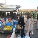 Acțiune umanitară de colectare de alimente pentru casele de copii organizată de Parohia Petrești I