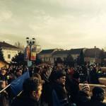 Duminică va avea loc la Sebeș un nou miting de protest împotriva celor de la Kronospan