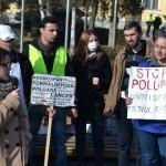 Un nou marș de protest împotriva poluării a fost organizat astăzi la Sebeș. Protestele vor fi mutate în fața sediului APM Alba