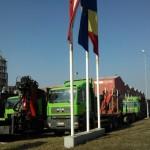 Dosar penal deschis de polițiștii din Sebeș pentru blocarea parcării din fața companiei Kronospan