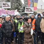 Astăzi a avut loc la Sebeș cel de-al patrulea miting de protest împotriva poluării