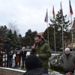 Peste 300 de persoane s-au adunat în fața Primăriei din Sebeș la cel de-al cincilea miting de protest împotriva poluării