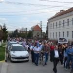 "Au fost reluate protestele anti-poluare la Sebeș. Manifestanții au scandat ""DNA, DNA, Sebeșul e ancheta ta!"""