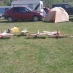 """Cea de-a 14-a ediție a Festivalului """"Fun to Fly"""" a atras zeci de pasionați de aeromodelism la Râpa Roșie"""