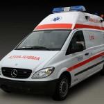 Minor de 11 ani acroșat de un autoturism la Sebeș, după ce a traversat strada prin loc nepermis