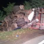 Șoferul unui TIR a decedat după ce a fost proiectat prin geam, în urma unui accident rutier petrecut pe DN1