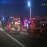 6 persoane au fost rănite în urma unui accident rutier petrecut pe DN1, la limita dintre județele Alba și Sibiu