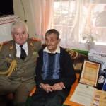 Ioan Istrate, veteran al celui de-al Doilea Război Mondial, sărbătorit de militari la împlinirea vârstei de 104 ani