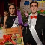 Iulia Bozdog și Cristian Pitarcă sunt Miss și Mister Boboc 2015, la Liceul cu Program Sportiv din Sebeș