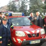 Maşină de intervenţie rapidă destinată Serviciului Voluntar pentru Situaţii de Urgenţă din Sebeş
